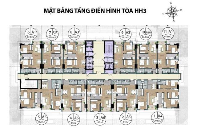 Sắp mở bán căn chung cư cao cấp 4PN hướng Nam giá cực tốt đường Phạm Văn Đồng. Hotline 097.990.6655