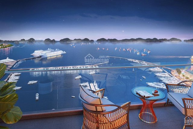 Suất ngoại giao căn hộ 2 phòng ngủ view biển, sổ đỏ lâu dài, giá gốc CĐT, Bãi Cháy, Hạ Long