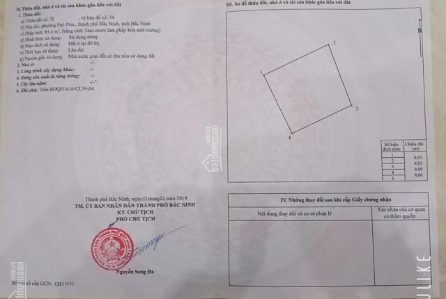 Bán đất trục chính Nguyễn Quyền đi sân bóng Đại Phúc