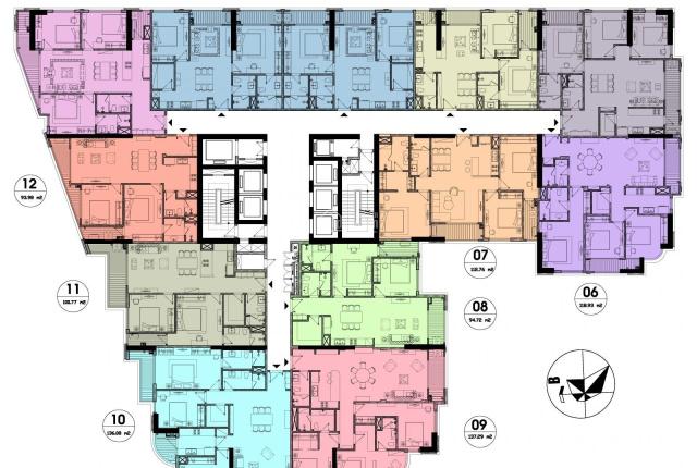 Còn duy nhất căn hộ số 04, 2PN dự án Hateco Laroma, trung tâm Quận Đống Đa, giá 5,4 tỷ