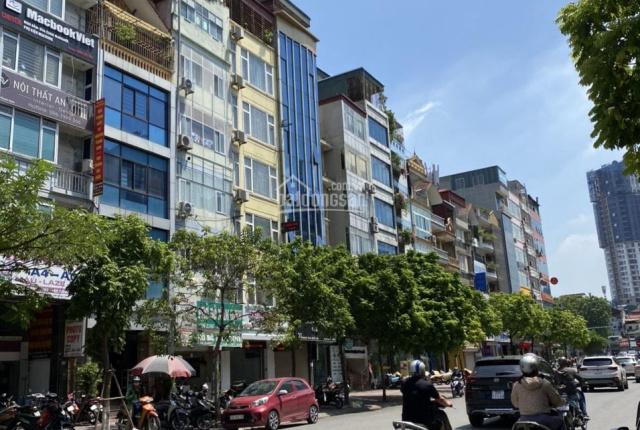 Duy nhất! Mặt phố Nguyễn Văn Huyên, vỉa hè 7m, ô tô đua, siêu kinh doanh 15 tỷ
