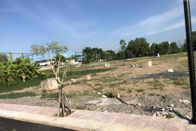 Bán 85m2 đất thổ cư mặt tiền đường 30m sổ riêng gần chợ Bình Chánh