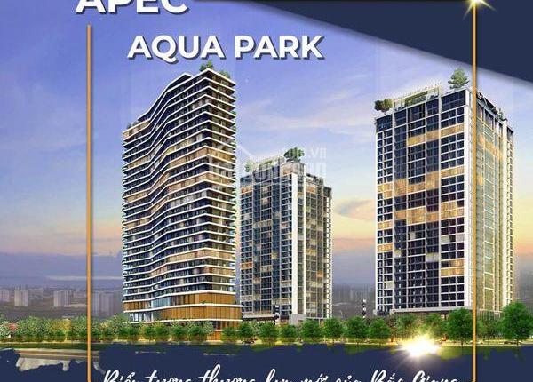 Bán căn hộ chung cư cao cấp Aqua Park - TP Bắc Giang - từ 1 đến 3 phòng ngủ