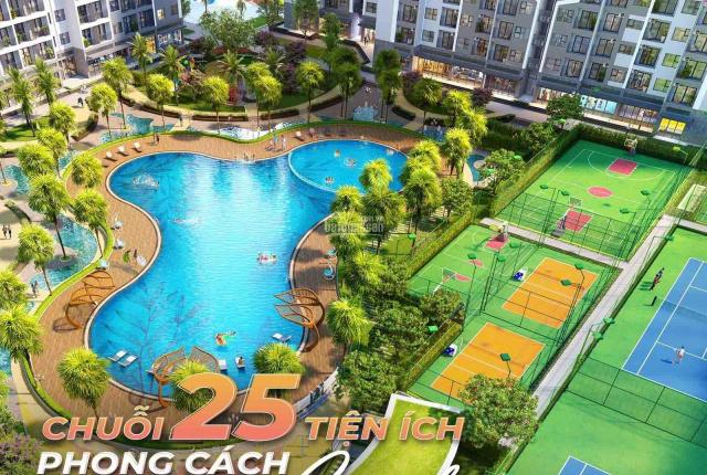Gấp gấp ra mắt căn hộ studio dự án Vinhomes Smart City nhỉnh 1 tỷ đầu tư tốt, view trực diện bể bơi