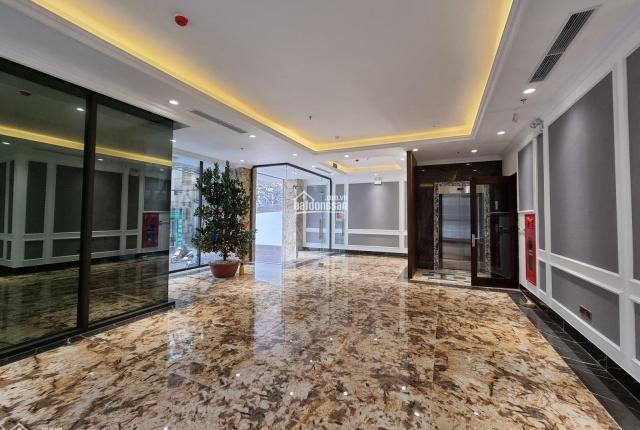 Bán tòa văn phòng mặt phố Nguyễn Hy Quang gần ngõ 9 Hoàng Cầu MT: 7m - DT: 115m2 - giá: 48 tỷ