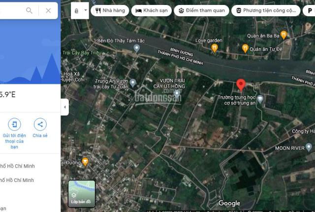 Chính chủ bán đất tại Trung An, Củ Chi, xã Trung An, MT sông Sài gòn, SHR giá rẻ nhất chỉ 4tr9/m2