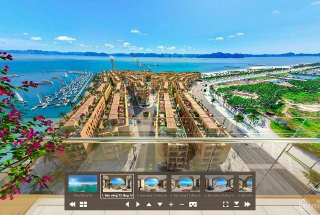Cắt lỗ căn hộ 2PN view trực diện biển toà A dự án Sun Marina Town LH: 0989487638.
