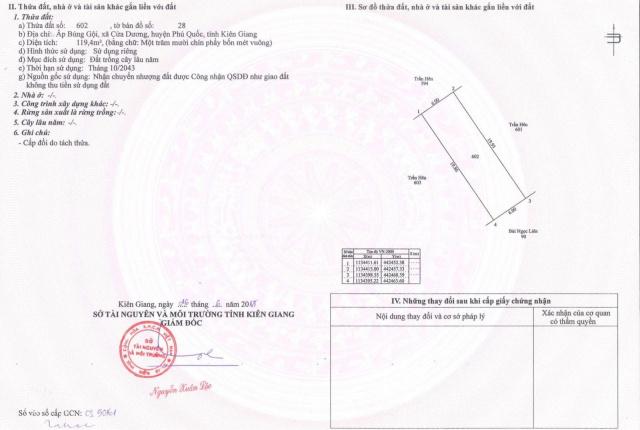Cần tiền trả ngân hàng nền đất 119.4m2 đường Nguyễn Trung Trực kéo dài, chỉ hơn 1 tỷ