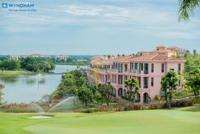 Bán căn góc biệt thự song lập 230m2 dự án Wyndham Skylake Resort - chỉ cần 3,5 tỷ ban đầu. CK 415tr