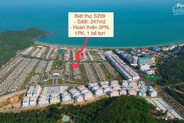 Chuyển nhượng biệt thự S209 cách biển 100m, hoàn thiện 5 sao cam kết lợi nhuận 9%/năm. Giá 13,5 tỷ