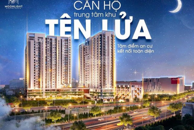 Mở bán căn hộ cao cấp Hưng Thịnh Tên Lửa Moonlight Centre Poin chiết khấu cao, LH 094604897 Đình Tú