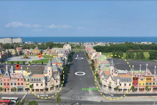 Bán 2 căn góc shop Vinwonders Phú Quốc vị trí Khủng nhất ngay trục giao thương 02 mặt tiền cực lớn