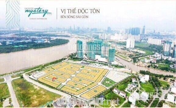 Mystery Villas Q2 cần bán gấp nền nhà phố giá rẻ nhất khu vực chỉ 150tr/m2, view đẹp LH: 0906885985