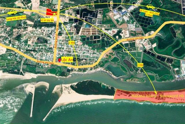 Thanh toán từ 700 triêu sở hữu nền đất nghỉ dưỡng Phước Hội Hồ Tràm