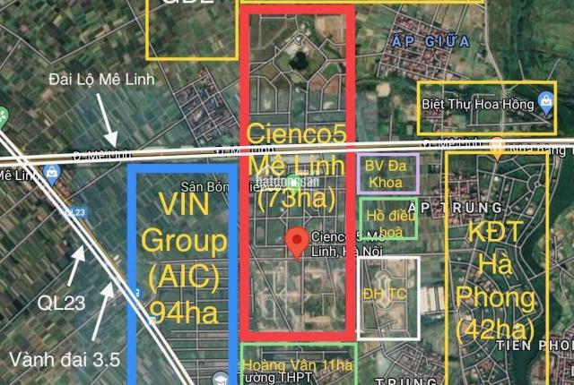 Cienco 5 Mê Linh căn góc đẹp nhất dự án nối liền Vinhomes