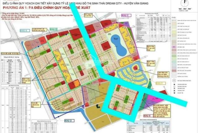 Bán 188m2 đất thổ cư, thôn 14, vị trí nằm trong dự án đô thị Dream City (466ha)