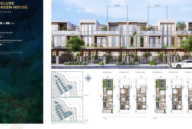 Bán nhà phố 5.5x20m, view công viên, thanh toán 411tr sở hữu ngay, cam kết mua lại 6.5%