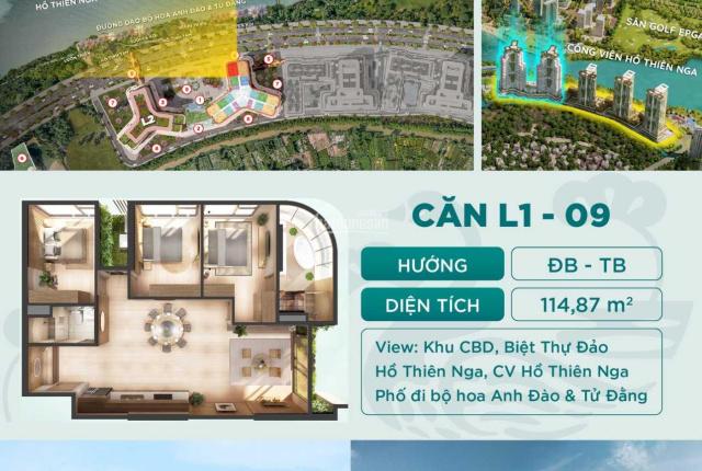 Duy nhất 3 cặp căn 9-10 Landmark- Ecopark, hoa hậu của cả dự án, đối diện hồ thiên nga.LH 0376291803