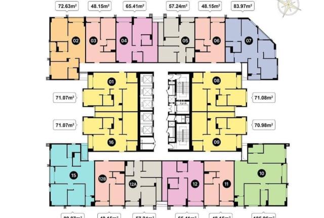 Phòng KD CĐT T&T tổng hợp 30 căn ngoại giao từ 1PN - 3PN của dự án T&T 120 Định Công, giá từ 1,7 tỷ