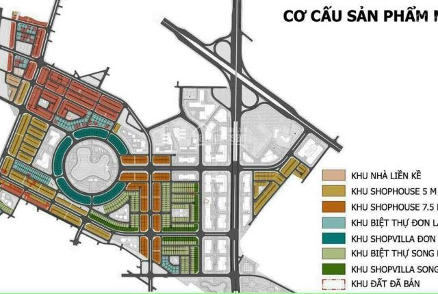 Shophouse đường 30m khu đô thị Kim Chung - Di Trạch có hỗ trợ ngân hàng MB