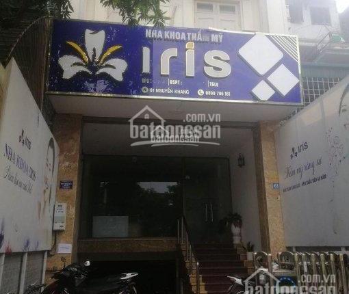 Cho thuê mặt bằng kinh doanh tại mặt phố 31 Nguyễn Khang