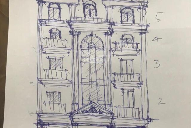 Bán nhà phố Sài Đồng, lô góc 46m2 x 5.5 tầng, lô góc, đường nhựa rộng 5m, có gara + thang máy