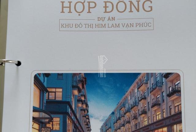 Chính chủ bán lại căn shophouse 6T cực đẹp khu B dự án Him Lam Vạn Phúc