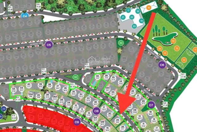 Chính chủ bán căn BT đơn Lập C8 - 29 2 khe thoáng cây xanh căn vip dự án Xanh Villas
