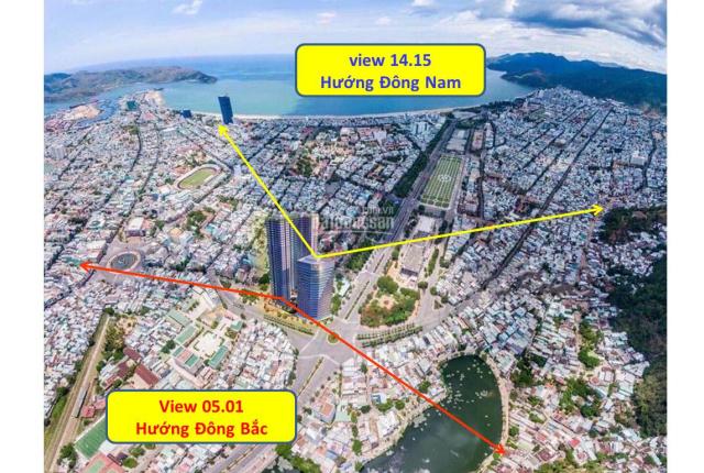 Bán căn hộ Grand center 2 phòng ngủ hướng Đông Nam , tầm nhìn trọn vẹn quảng trường biển Quy Nhơn