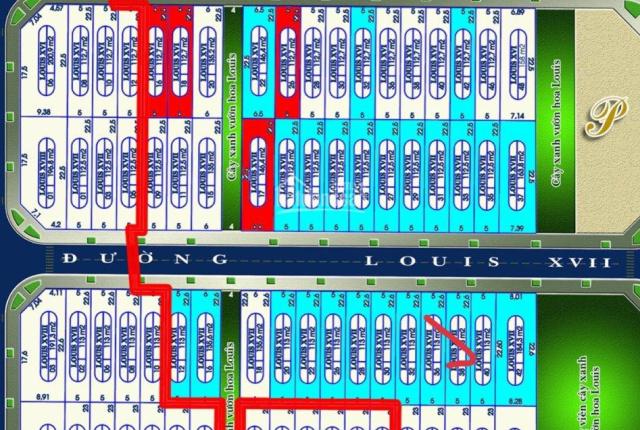 Bán Lô SH L1738 Louis City Hoàng Mai gần hồ điều hòa,giá 119tr/m2,giá tốt nhất dự án.lh 0972811991
