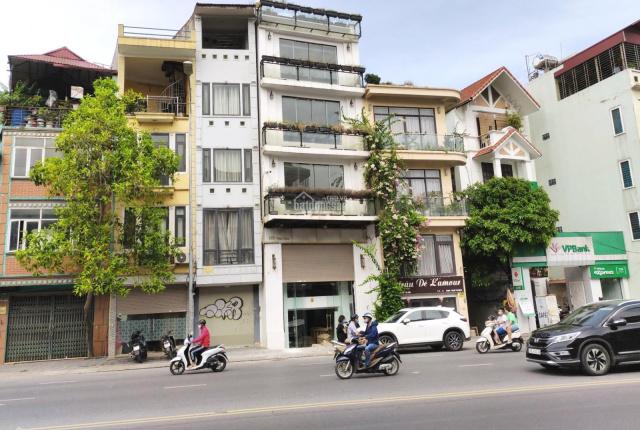 Bán tòa nhà văn phòng Vũ Phạm Hàm, Cầu Giấy, 60m2, 8 tầng, MT 6.3m, giá 23,5 tỷ, thương lượng