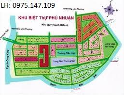 Chính chủ bán gấp lô đất KDC Phú Nhuận, 308m2, giá 81 tr/m2. Trục chính dự án Phú Nhuận
