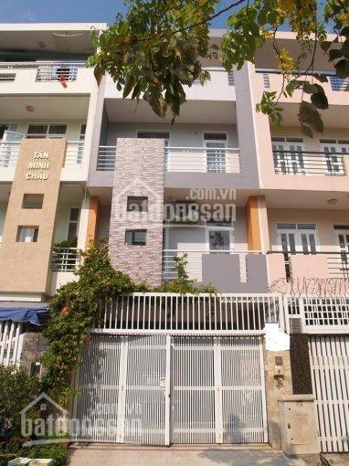 Cần cho thuê gấp nhà phố Sadeco, Phước Kiển, Nhà Bè, 1 trệt, 3 lầu, DT 5x20m giá 22tr/th nhà mới.