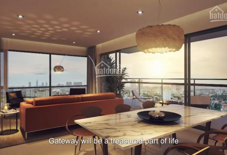 Apartments for rent at Gateway Thao Dien. From 1-4 bedrooms, special price for very first tenant