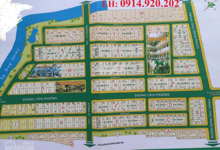 Bán đất nền sổ đỏ dự án Sở Văn Hóa, Phú Hữu, Quận 9, giá tốt nhất hiện nay, LH: 0914.920.202