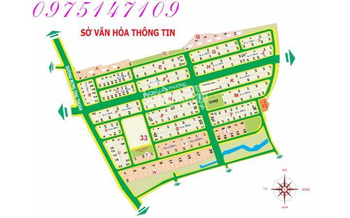 Cần bán đất nền tại KDC Sở Văn Hóa Thông Tin, Q. 9, giá rẻ, diện tích 280m2, giá 30 tr/m2