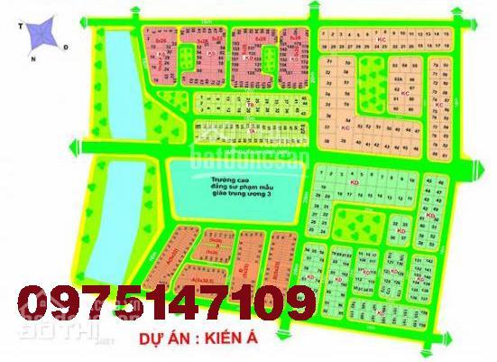 Bán nền đất biệt thự Kiến Á, quận 9, diện tích 10m x 21m, vị trí đẹp, giá tốt đầu tư