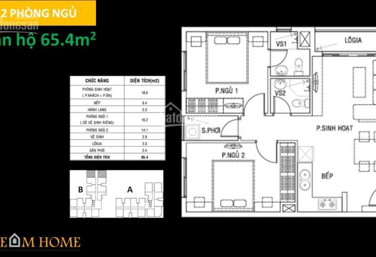 Cần tiền kinh doanh bán gấp căn hộ Dream Home Residence, nhận ngay thiết kế đẹp