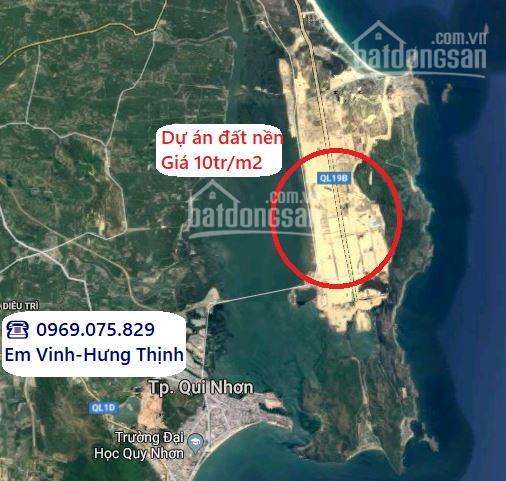 10 suất nội bộ 100m2 DA HT Royal City Quy Nhơn giá 20tr/m2, gần biển, trục chính. LH 0969075829