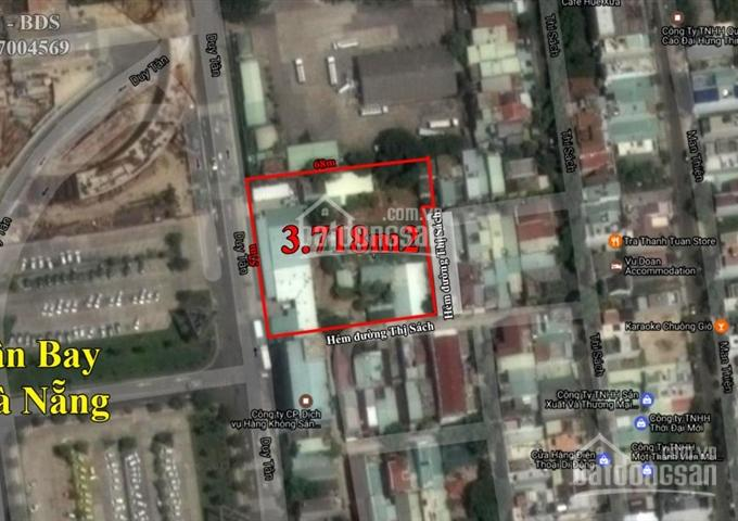 Bán đất ở MT đường Duy Tân, đối diện sân bay Đà Nẵng, 148 triệu/m2