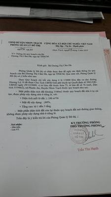 Cần bán gấp đất mặt tiền đường Hùng Vương, Nhơn Trạch, Đồng Nai