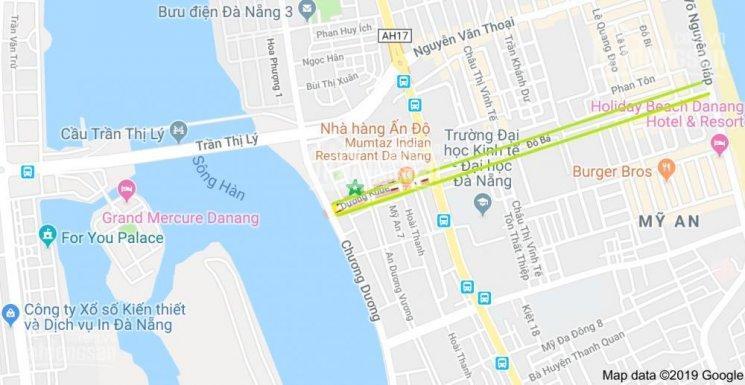 Bán đất đường Dương Khuê, Mỹ An, Ngũ Hành Sơn, Đà Nẵng, đã thông Đỗ Bá ra biển, gía 162tr/m2