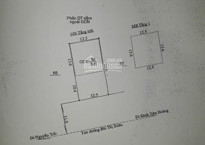 CHÍNH CHỦ CẦN BÁN MẶT TIỀN 375 M2 GẦN CHỢ BÀ ĐỊNH, TP. PLEIKU