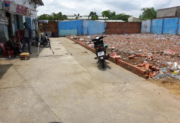 Bán 5 lô đất đã phân lô và có sổ riêng Nguyễn Văn Quá, Q12, DT 4x18m, hẻm 5m. Giá 3.6 tỷ, còn TL
