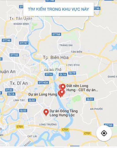 Chuyên dịch vụ mua bán nhà đất DA khu đô thị Long Hưng, 1 số nền đang bán, LH: 0975.147.109