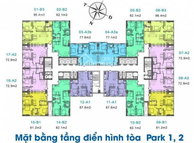 Chính chủ cần bán căn hộ 3PN dự án Eurowindow River Park 1, liên hệ 0915 696569