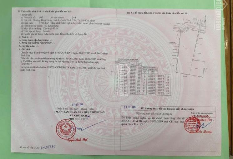 Bán 63 lô đất dự án ECO - 18B đường Gò Xoài, giá 3.3 tỷ/lô, Q. Bình Tân