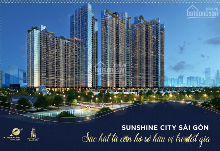 Bán căn hộ Sunshine City Sài Gòn ngay trung tâm PMH Q7 TT 25% CK 8% còn lại vay 0% LS: 0909763212