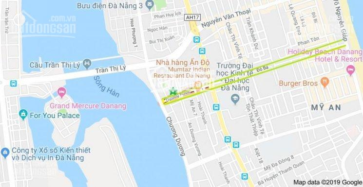 Bán đất đường Dương Khuê, Quận Ngũ Hành Sơn, Đà Nẵng giá 155 triệu/m2, hướng Nam thông biển