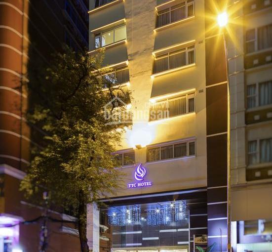 Cho thuê khách sạn TTC 20 - 22 - 24 Đông Du, P. Bến Nghé, Q. 1, 2 hầm + 10 tầng + 43P